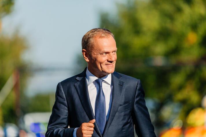 Donald Tusk voorzitter Europese Raad