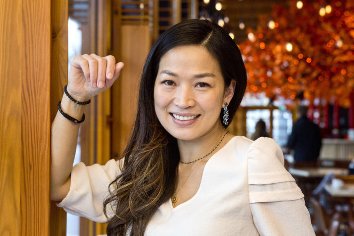 Chef-kok Eveline Wu droomt stiekem van een Michelinster. Alhoewel…