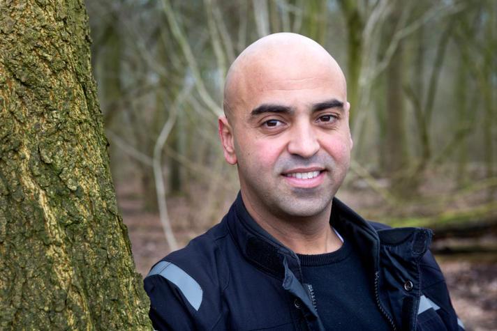 Schipholtaxi baas Gamis el Bouakili: 'Ik wist dat ik succes zou hebben'