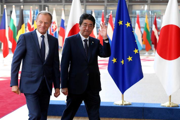 'Handelsakkoord Japan en EU goed voor export'