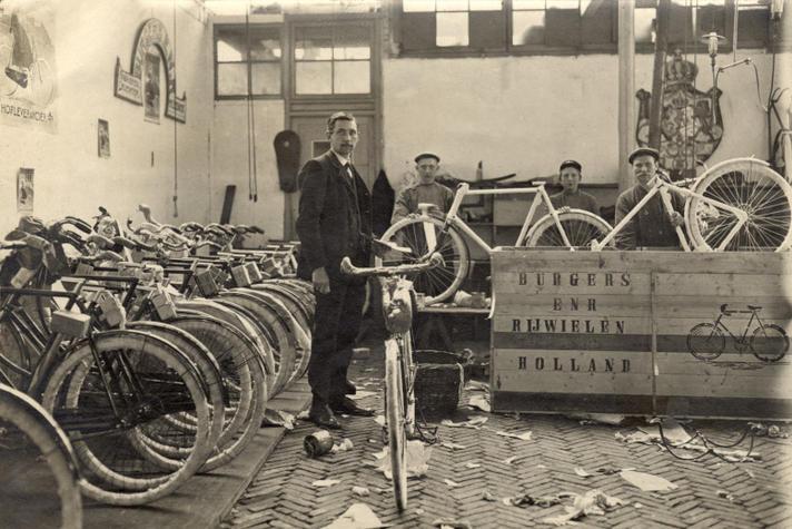 Burgers Fietsen zette fietsen in Nederland op de kaart