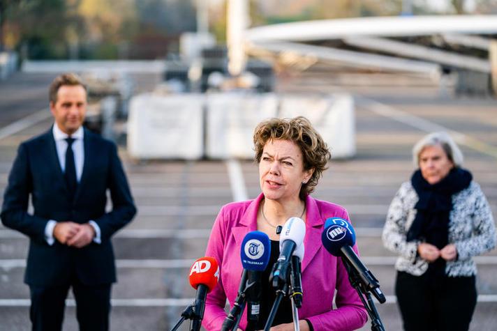 Ingrid Thijssen bij aftrap XL-teststraten: 'Dit lukt alleen samen'