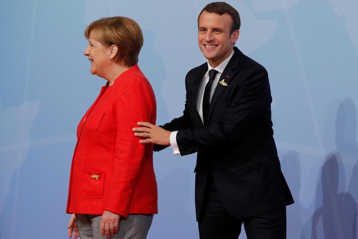Wat willen Merkel en Macron met de EU