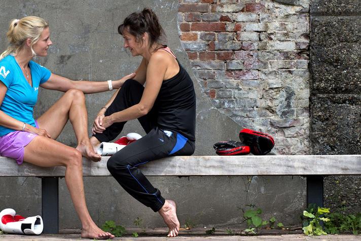 Oud-kickbokser Krista Fleming over haar leven na de sport