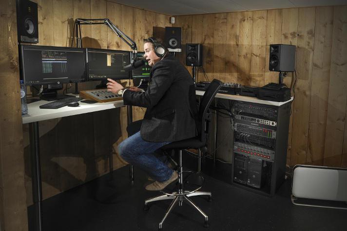 Ondernemer Nick van Gils: 'Radio dj worden ging bij mij om de muziek'