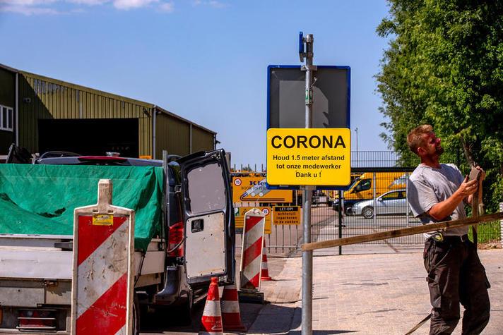 'Veilig en gezond werken met SER-coronahandreiking'
