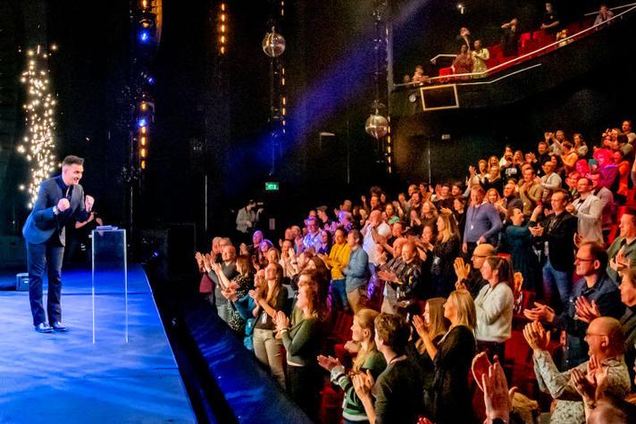 Boris van der Ham wacht tot licht in het theater eindelijk weer aan kan