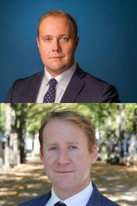 Thierry Aartsen en Kees Verhoeven